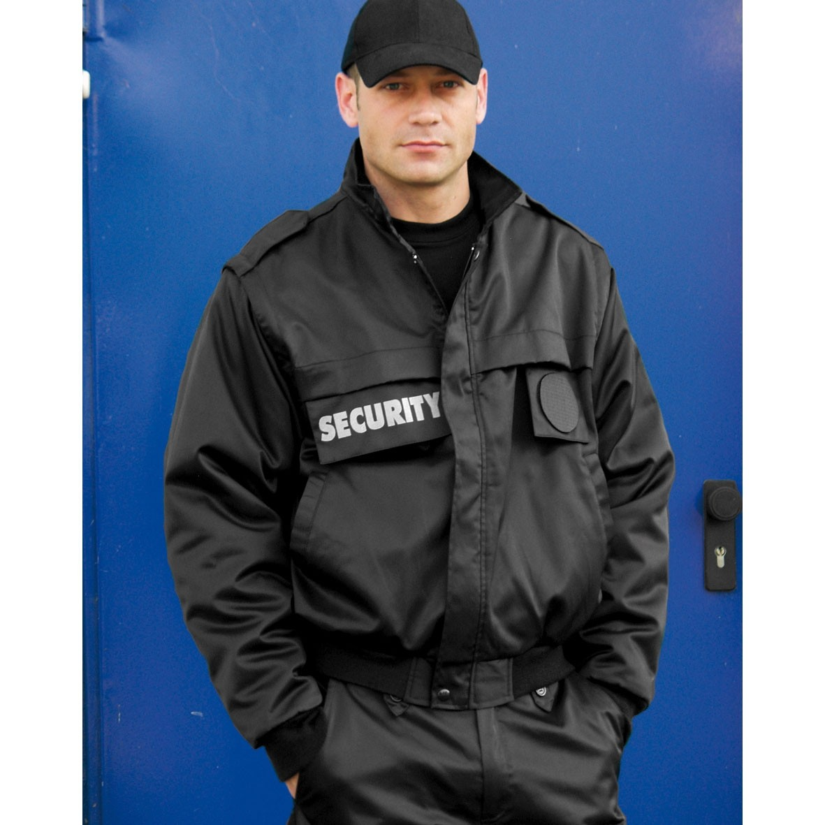 Security Blouson Zip-Off, schwarz