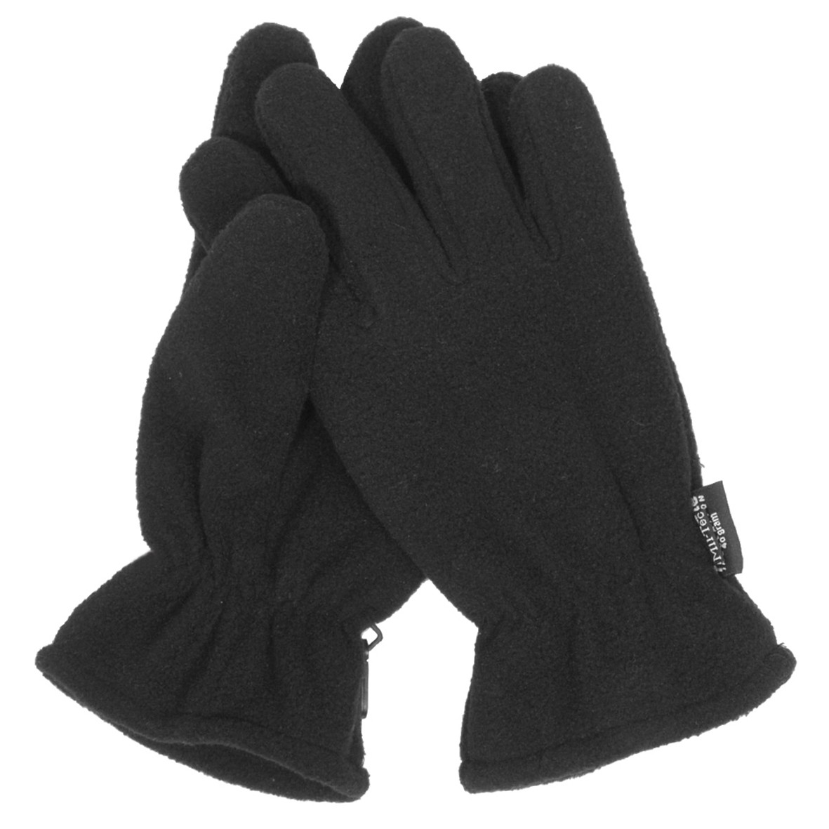 Fingerhandschuhe Fleece Thinsulate, schwarz