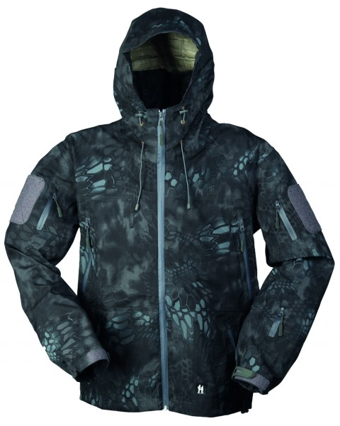 HARDSHELL JACKE BREATHABLE MANDRA® NIGHT