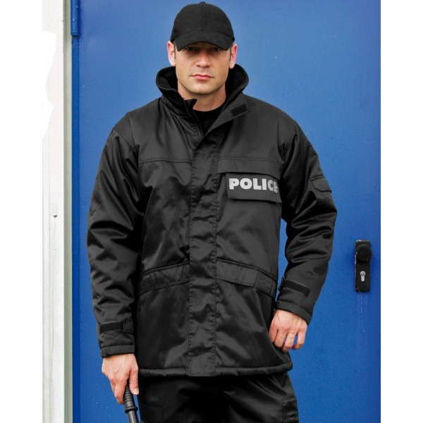 Security Parka, schwarz