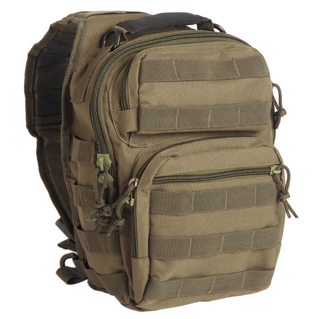 One Strap Assault Pack Rucksack Small, 11 L, oliv