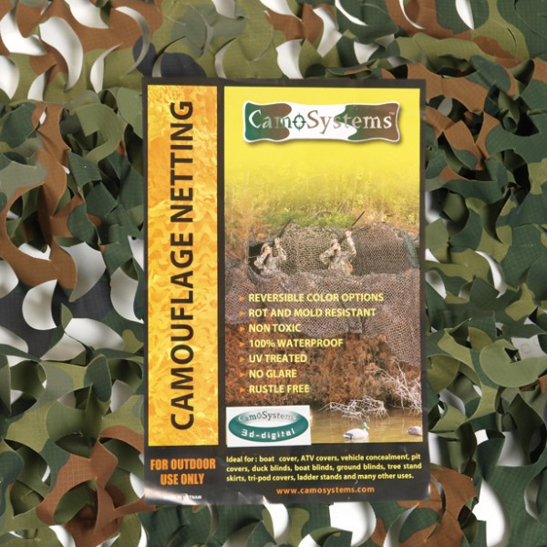 Tarnnetz Basic Light 2,2 m x 3,0 m, flecktarn