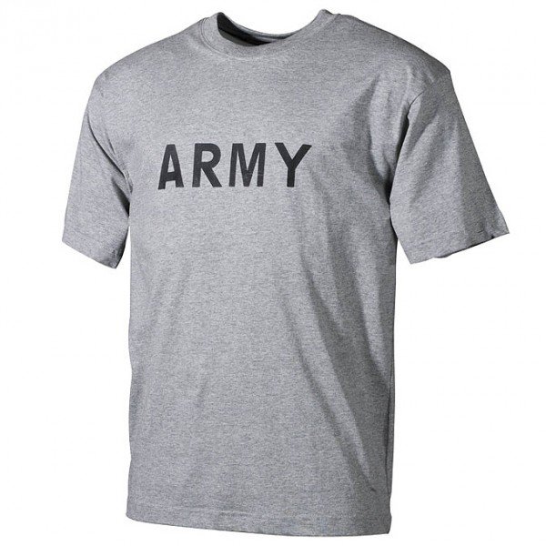 T-Shirt, US Army, grau