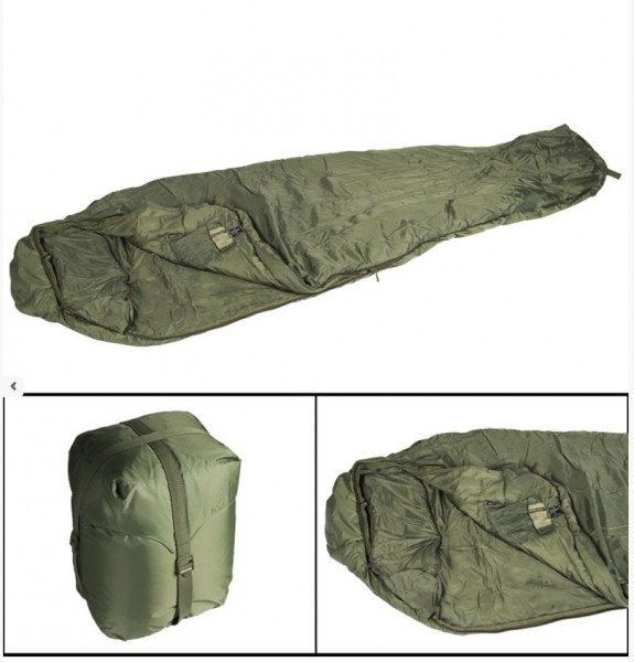 SCHLAFSACK TACTICAL 4 OLIV